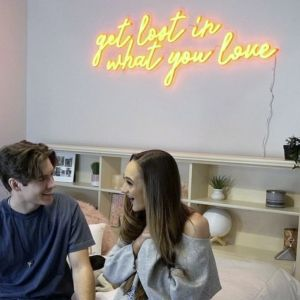 Get Lost in What You Love LED Neon Light Signs for Room Décor - photo CustomNeon.com
