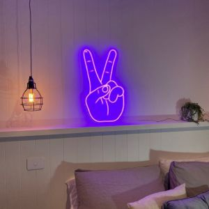 Peace Light Sign For Sale Led Neon Lights For Rooms