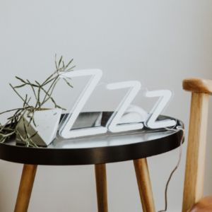 ZZZ Neon Night Light | Cool Neon Light Bedroom Decor